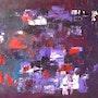 Das Lila-Laune-Bild. Anika Geldner