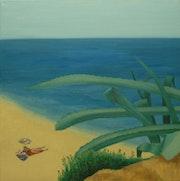 La playa española.