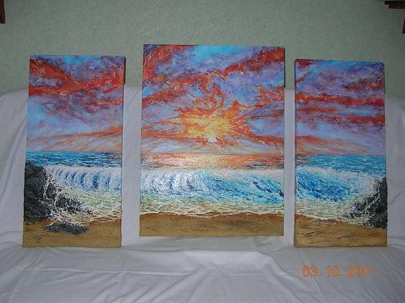 2011 Coucher de soleil sur l'Ile de la Réunion. Patricia Vivier Robert Patricia Vivier Robert » Pat V »