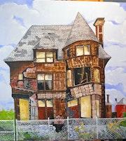 Verlassenes Haus.