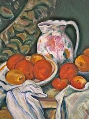 Orangen, Kopien nach P. Cezanne. Diana. K