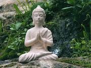 Buda niño de terracota. Sebasthian Dúart