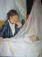 The cradle, copy after Berthe Morisot. Diana. K
