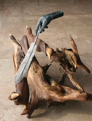 Birds driftwood-bronze.