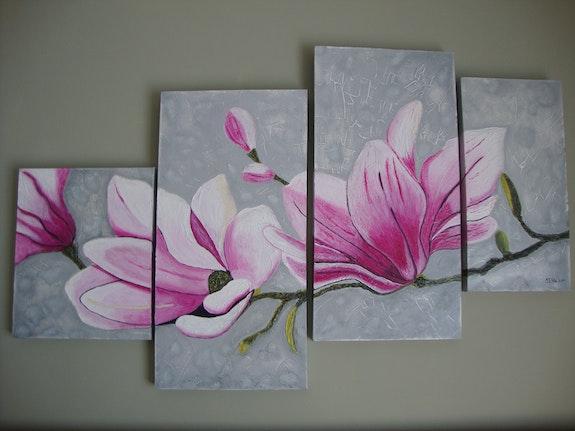 Mis flores en relieve. Mª Teresa Velez Araez Mª Teresa Velez