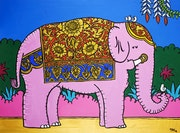 Two Birds on a Pink Elephant.