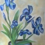 Blaue Blumen. Callisto