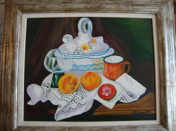 My first still life oil paintings I was thrilled. Mª Teresa Velez Araez Mª Teresa Velez