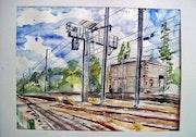 Gare de Montreuil Sur Ille.