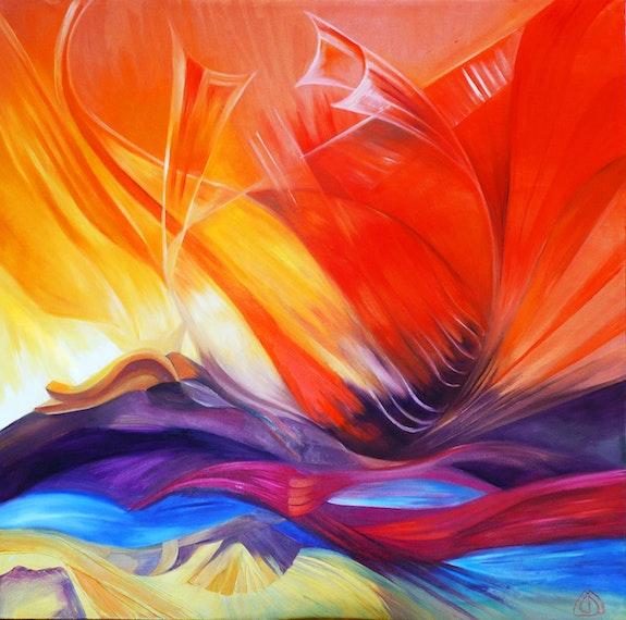 """Flow of ethers"". Christine Serres Maryserres"