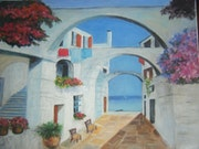 Alley in Sidi Bou Said.
