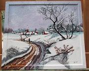 Road im Winter. Patrick Heuse