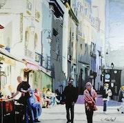 Street Rambuteau.
