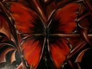 Papillon de nuit. Anne Delpierre