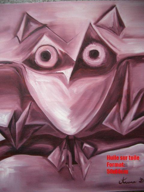 Owl Eyes. Anne D. Anne Delpierre