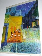 D«aprés un tableau du Maitre Vincent Van Gogh.