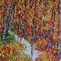 Unterholz Herbst. Christian Thiefaine