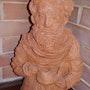Sculpture preparation du thé a la menthe. Galeriste Et Artiste Moi Meme