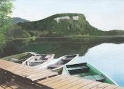 Barques à Bonlieu.
