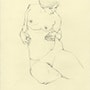 Femme nue dessin 2. Drawings By Mia