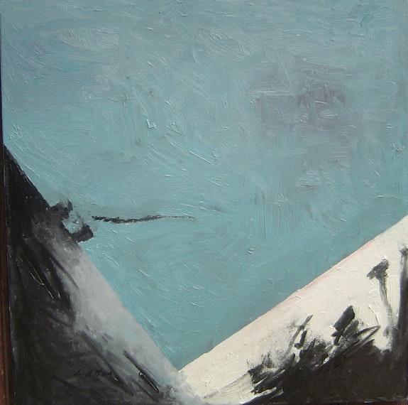 Volcan 1 (travail du Noir sur format carré). Labor Labor Robert