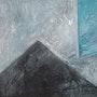 Volcán 3 (trabajando en el formato Negro cuadrados). Labor Robert