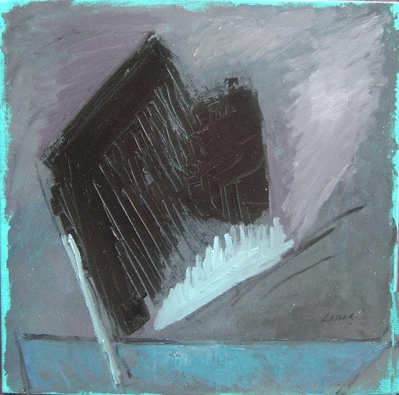 Volcan 8 (travail du Noir sur format carré). Labor Labor Robert