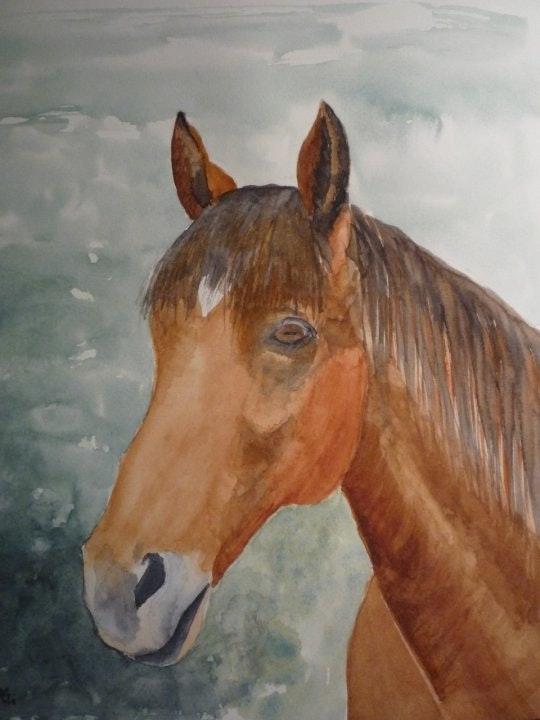 Portrait of a horse. Spg Sylvia Patissier-Gauthier