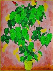 Eine Pflanze Berrychone.