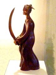 The Samurai Bronze 1 / 8. Sonia Mandel Mon Atelier. «La Rose Des Vents»