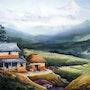 Himlayan Pueblo. Paintings Of Samiran
