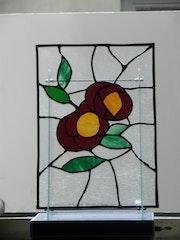 Duo roses. Martine Dugue
