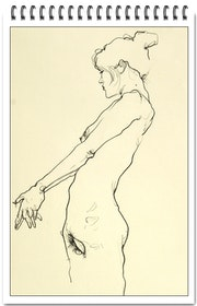 Women Nude drawing 3.