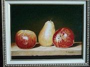 Manzanas y peras.
