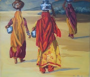 Water carriers.