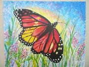"""The butterfly """"monarch"""", a very highly migratory.."""