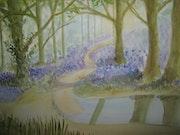 Bluebell Wald. Myrna Robinson