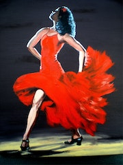 Danseuse flamenco.