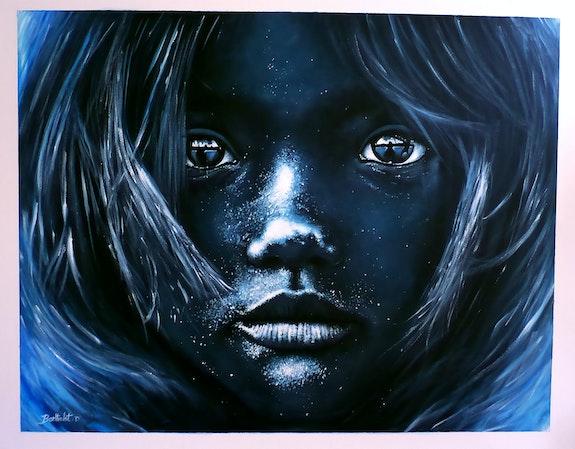 «Limpide» peinture acrylique sur toile. Berthelot David Davart David Berthelot