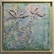 Zeitgenössische Malerei: Eine kleine rosa. Irina Be