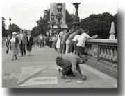 Walk in Paris der 50er Jahre. Gilles Bizé