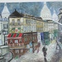 Montmatre copy of a painting by Maurice Legendre. Luc Terrail