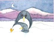 """Pit und Pat """"... Der kleine Pinguin ...."""