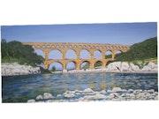 The Pont du Gard.