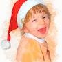 La joie d'un enfant a noel…. Christelle D-Aitsiali