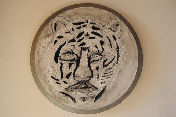 L'homme tigre du Bengale.. Claude Sauvage