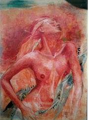 femme d'incendie. Pilar Bueno