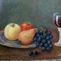 Coupe de fruits. Andre Blanc