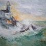 Tormenta en el mar. Roland Chancogne