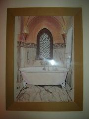Bath Hotel Mamounia Marrakech. Jean Sarda